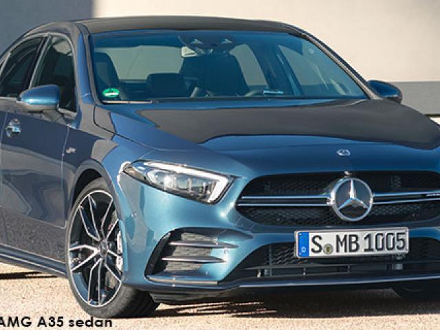 Mercedes-AMG A-Class A35 sedan 4Matic