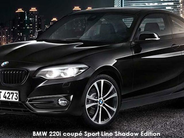 BMW 2 Series 220i coupe Sport Line Shadow Edition