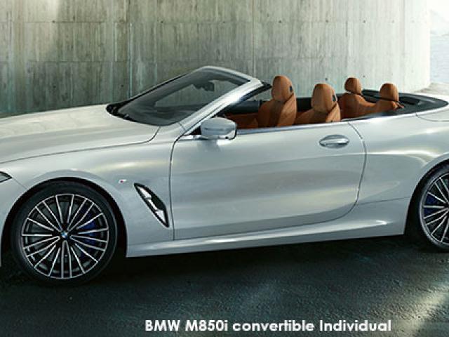 BMW 8 Series M850i xDrive convertible Individual