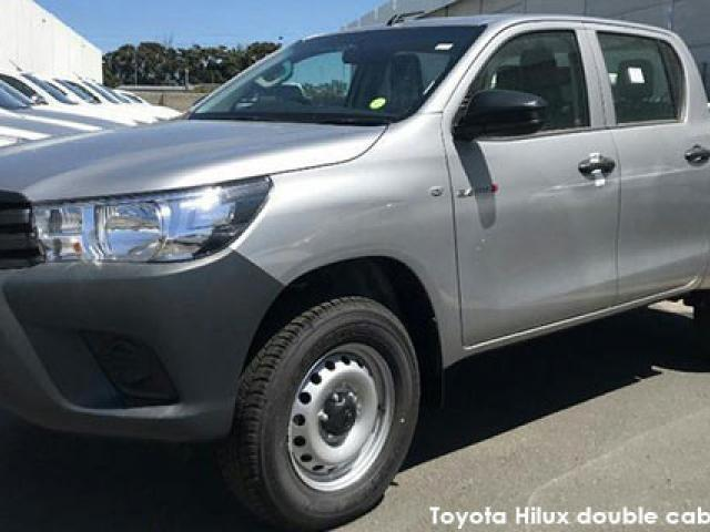 Toyota Hilux 2.4GD-6 double cab S