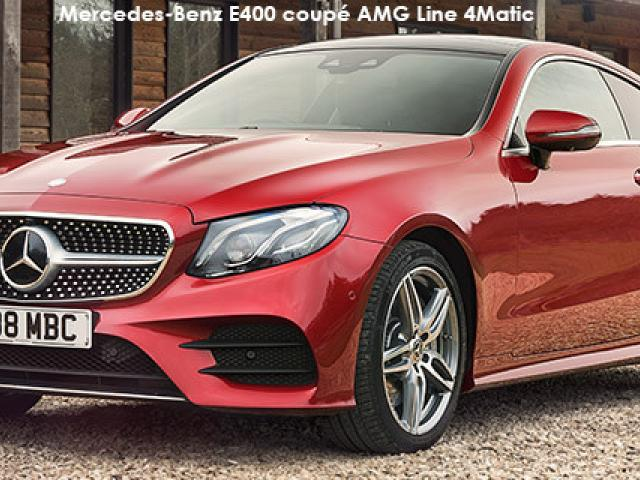Mercedes-Benz E-Class E200 coupe AMG Line