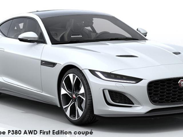 Jaguar F-Type P380 AWD First Edition coupe