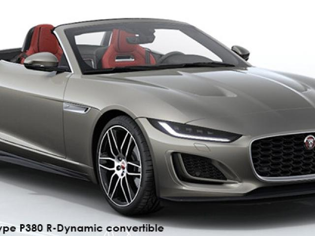 Jaguar F-Type P380 R-Dynamic convertible