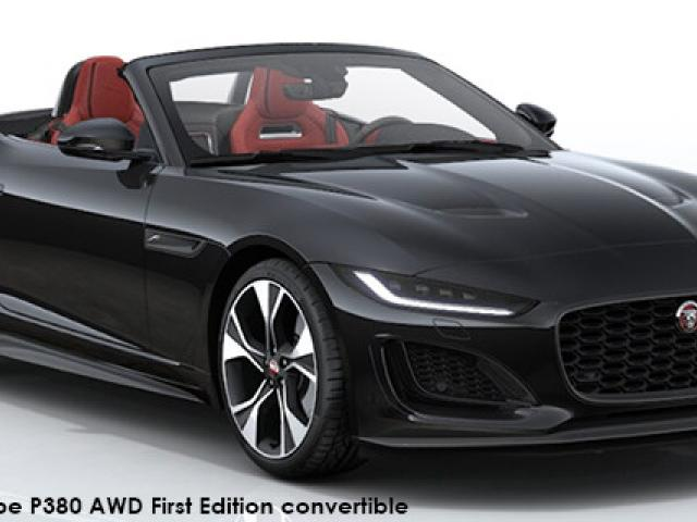 Jaguar F-Type P380 AWD First Edition convertible
