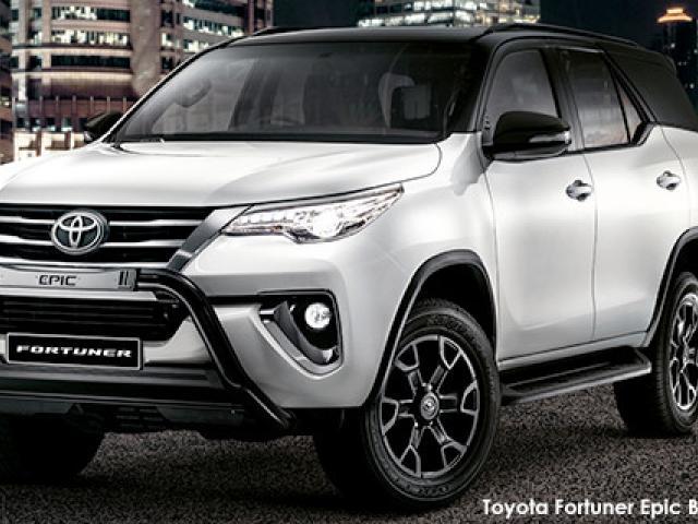 Toyota Fortuner 2.8GD-6 4x4 Epic Black