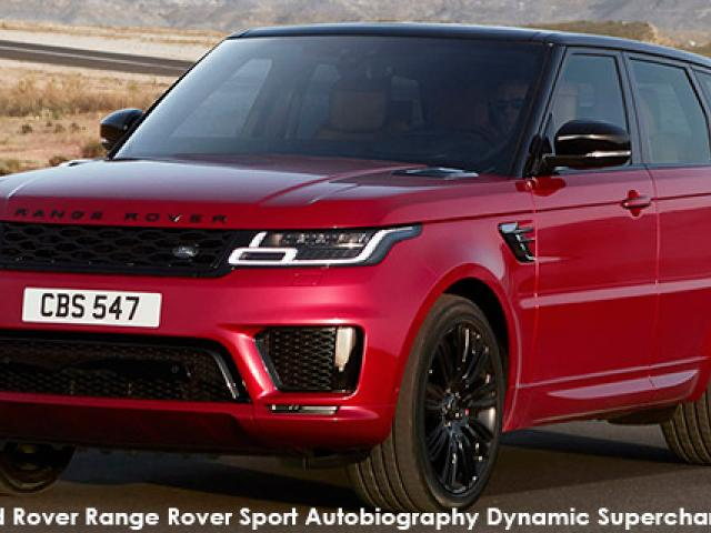 Land Rover Range Rover Sport Autobiography Dynamic Supercharged