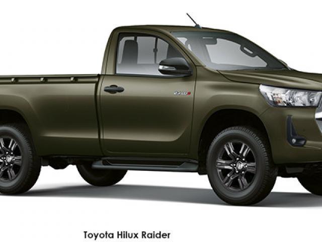 Toyota Hilux 2.4GD-6 4x4 Raider auto