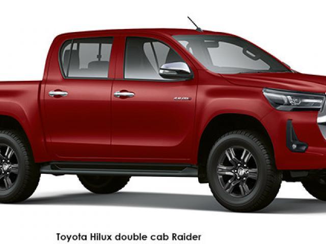 Toyota Hilux 2.4GD-6 double cab 4x4 Raider auto