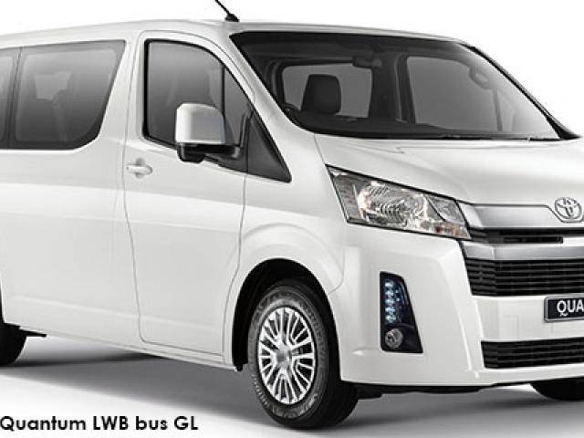 Toyota Quantum 2.8 LWB bus 11-seater GL