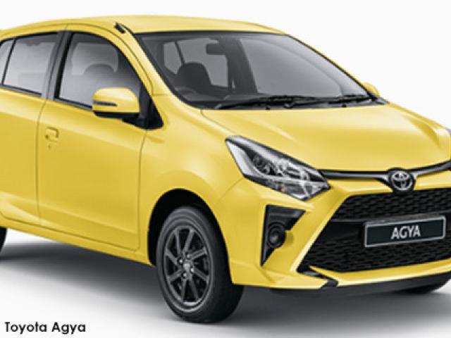 Toyota Agya 1.0 auto (audio)