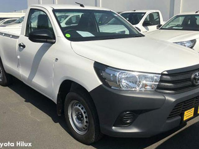 Toyota Hilux 2.4GD chassis cab