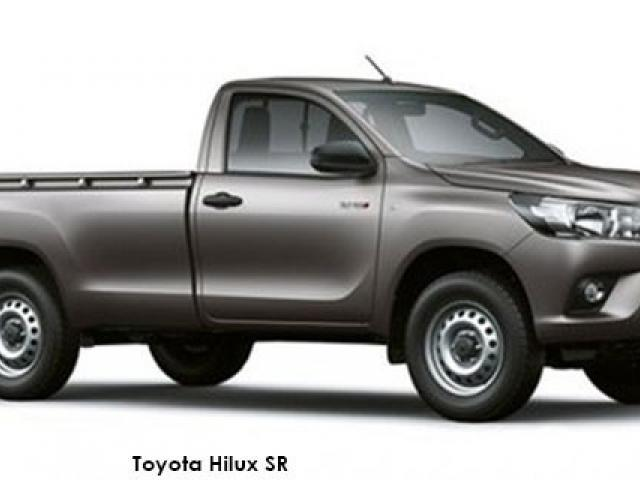 Toyota Hilux 2.4GD-6 4x4 chassis cab