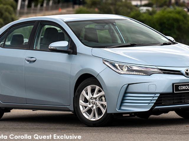 Toyota Corolla Quest 1.8 Exclusive auto