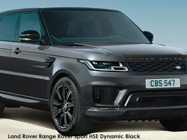 Land Rover Range Rover Sport HSE Dynamic Black Supercharged