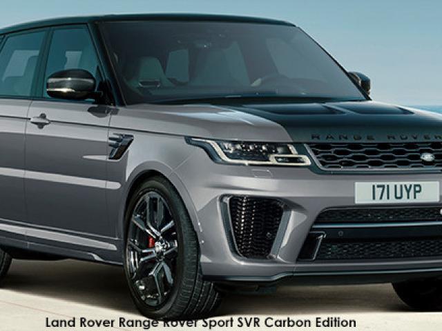 Land Rover Range Rover Sport SVR Carbon Edition
