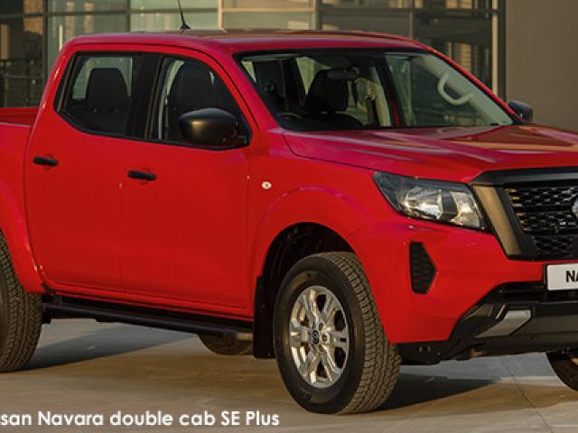 Nissan Navara 2.5DDTi double cab SE