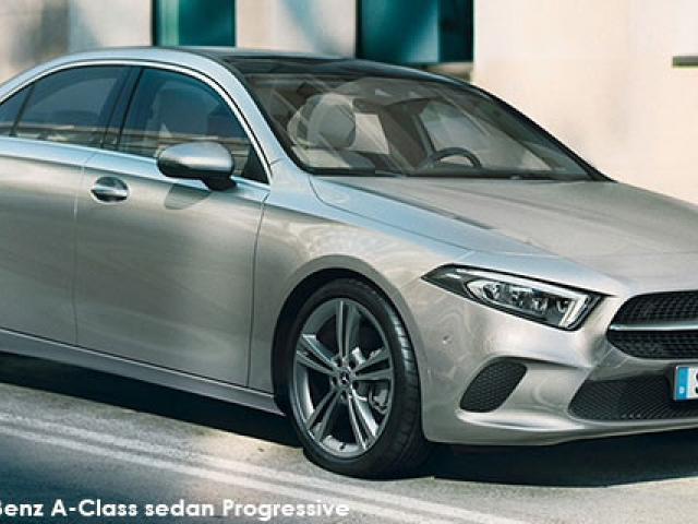 Mercedes-Benz A-Class A200d sedan Progressive