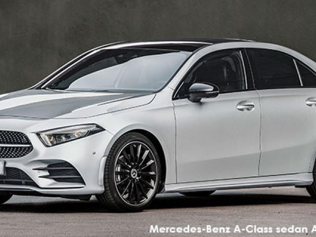 Mercedes-Benz A-Class A200d sedan AMG Line