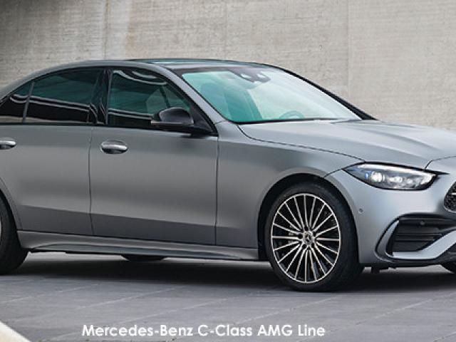 Mercedes-Benz C-Class C200 AMG Line