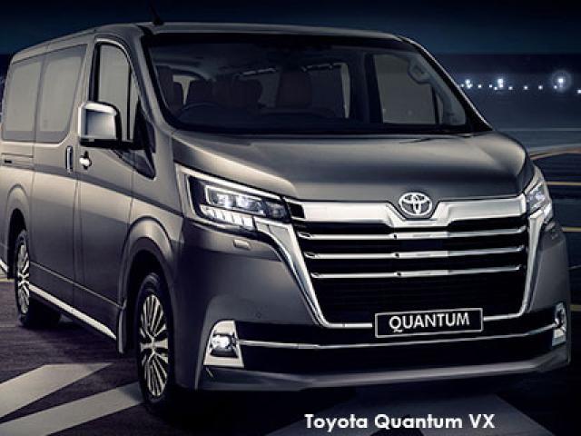 Toyota Quantum 2.8 LWB bus 6-seater VX Premium