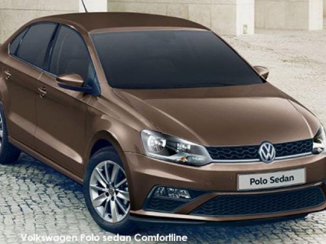 Volkswagen Polo sedan 1.6 Comfortline auto